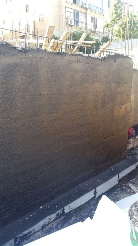 איטום קירות -א.א.ענבל